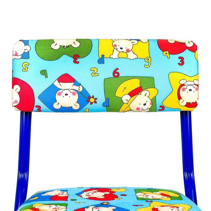 Набор детской мебели «Никки. Азбука 3» складной, цвета стула МИКС - фото 538091336
