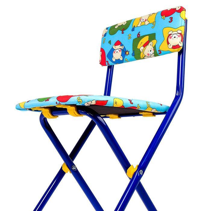 Набор детской мебели «Никки. Азбука 3» складной, цвета стула МИКС - фото 538091337