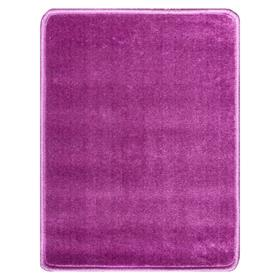 Ковер Соло гладь/39 50х65 см, фиолет, ПП 100%