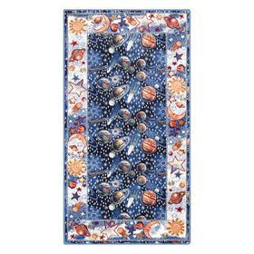 Ковер Радуга диз.40553/02 размер 80х150см цв.синий