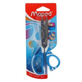 Ножницы 13 см Maped Zenoa Fit, обрезиненные ручки, система «антишок», асимметричные, блистер
