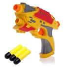 Gun Fight, shoots soft bullets, MIX color