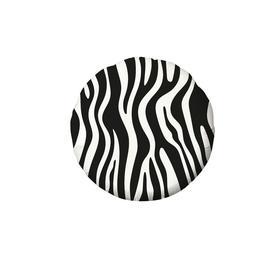 """Шар фольгированный 18"""" «Зоо зебра», круг"""