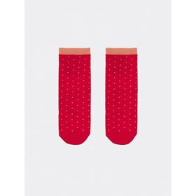 Носки детские, цвет малиновый, размер 16