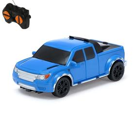 "Machine RC ""Pickup"", battery powered, color: blue"