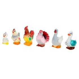 Набор резиновых игрушек «Птицеферма»