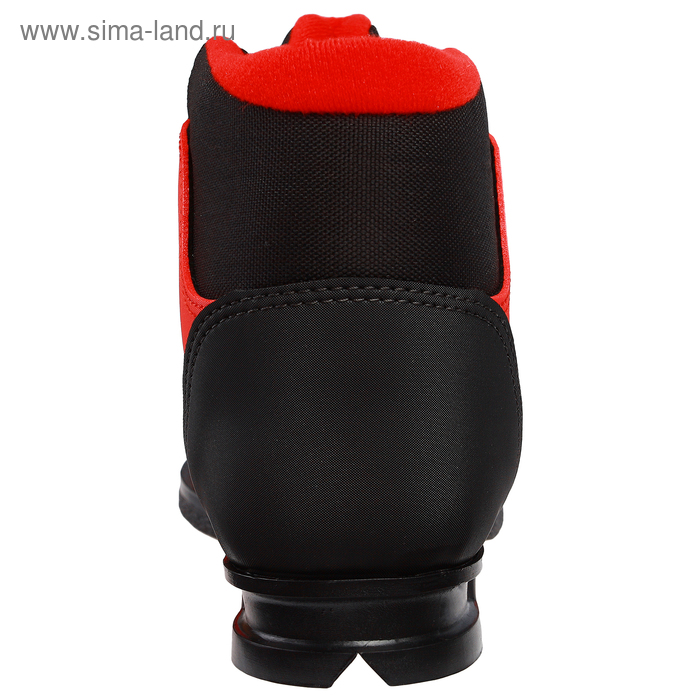 fd8bc9aeab5d Ботинки лыжные TREK Snowball NN75 ИК, красный, лого чёрный, размер ...