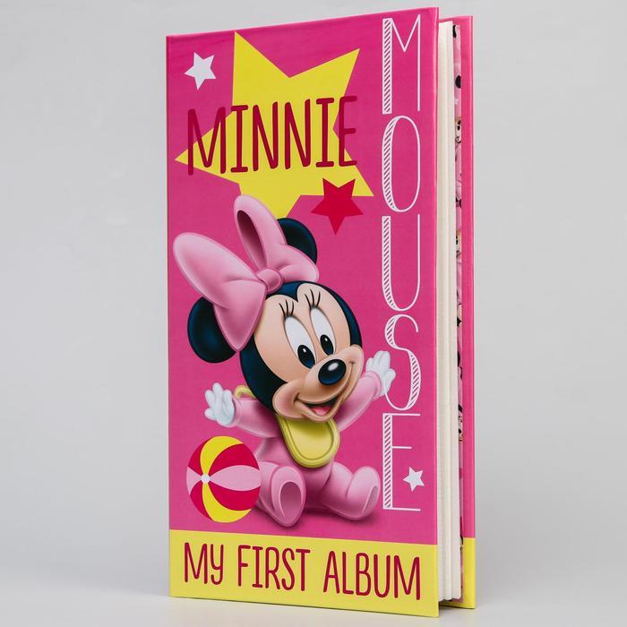 """Фотоальбом на 300 фото """"Мой первый альбом"""", Минни Маус"""