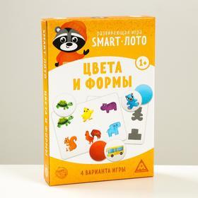 Развивающая игра «Smart-лото. Цвета и формы»