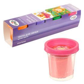 Тесто для лепки «Гамма» «Малыш», 4 цвета х 60 г, яркие цвета