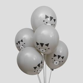 "Balloon latex 12"" ""Cat"", set of 100 PCs."