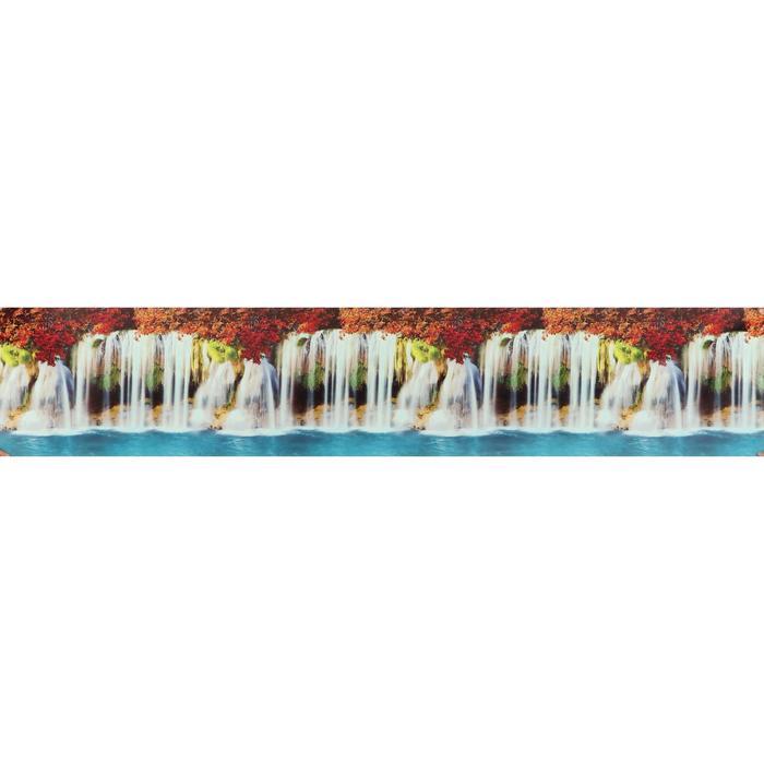 "Кухонный фартук ПВХ ""Водопад"" пластик 3000x600мм"