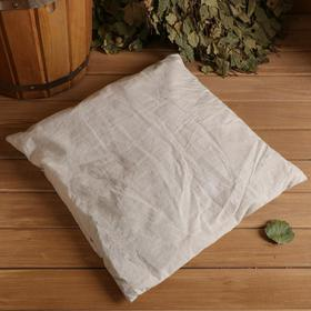 Pillow for bath with meadow hay 38х40 cm