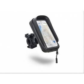Чехол текстильный для смартфонов с экраном 6,0 c креплнием на руль