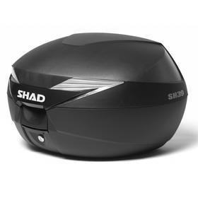Кофр пластиковый задний SH39 39л, чёрный