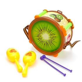"A set of musical instruments ""Fruit"", MIX colors"