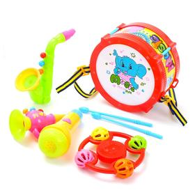 "A set of musical instruments ""Elephant"", 5 pieces, MIX color"