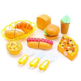 Набор продуктов для резки «Фастфуд» на липучках