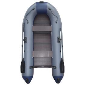 Лодка «Муссон» 2900 СК Light, цвет серо-синий