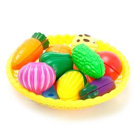 Набор продуктов для резки «Овощи и фрукты» на липучках