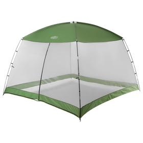 Шатер туристический 305х305х202 см, цвет зеленый