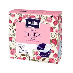 Прокладки женские гигиенические ежедневные bella Panty FLORA Rose с ароматом розы по 70 шт.