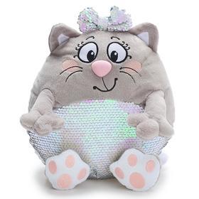 Мягкая игрушка «Кошечка Блестяшка», 33 см