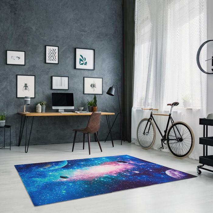 """Ковер Этель """"Галактика"""" 100*150 см, 700г/м2 - фото 788685"""