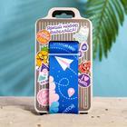 Набор для чемодана «Следуй за мечтой», 2 предмета: ремень, наклейки - фото 4638348