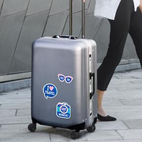 Набор для чемодана «Следуй за мечтой», 2 предмета: ремень, наклейки - фото 4638349