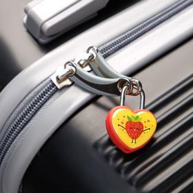 Замочек для чемодана с ключами «Клубничка» - фото 1786898