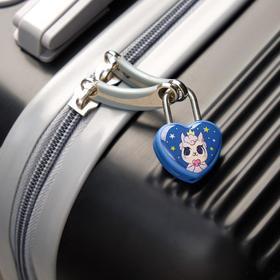 Замочек для чемодана с ключами «Лама» - фото 1786903