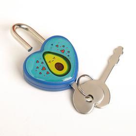Замочек для чемодана с ключами «Авокадо» - фото 1786917