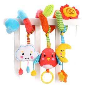Растяжка с развивающими игрушками Жирафики «Лесная сказка»