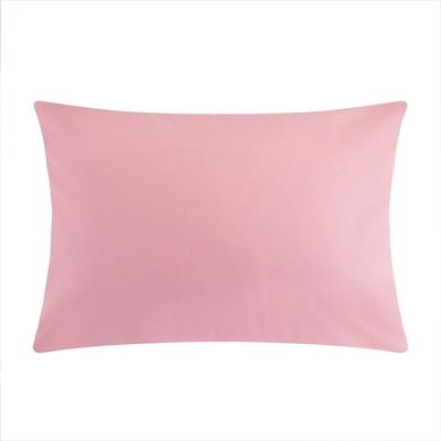 "Pillow case ""Ethel"" 50x70 cm, color pink, renforcé, 125 g/m2"