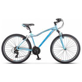 Велосипед 26' Stels Miss-6000 V, K010, цвет голубой, размер 15' Ош