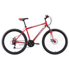 """Велосипед 26"""" Black One Onix D, Al, цвет красный/серый/белый, размер 18"""""""