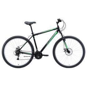"""Велосипед 29"""" Black One Onix D, Al, цвет чёрный/серый/зелёный, размер 20"""""""