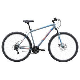 """Велосипед 29"""" Black One Onix D, цвет серый/оранжевый/голубой, размер 18"""""""