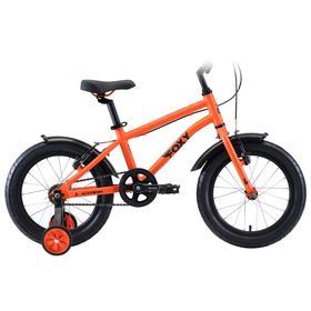 """Велосипед 16"""" Stark Foxy Boy, 2020, цвет оранжевый/голубой/черный"""