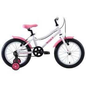 """Велосипед 16"""" Stark Foxy Girl, 2020, цвет белый/розовый"""