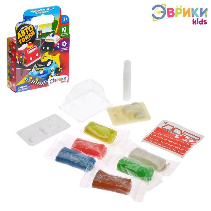 Набор для игры с пластилином «Авто Парк» - фото 105606004