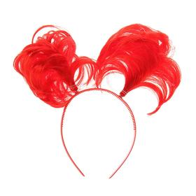 """Carnival headband """"Tails"""" surround, MIX color"""