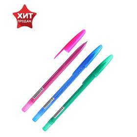 Ручка шариковая «Стамм», «Конфетти», узел 0.7 мм, чернила синие, на масляной основе, стержень 130 мм, микс