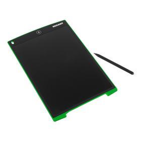 Планшет для рисования Rexant 70-5003, 12'', защита от стирания, чёрно-зеленый