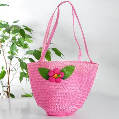 Handbag with flower, Mix color