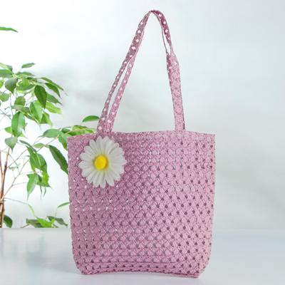 Carnival bag with flower Mix color 5156155