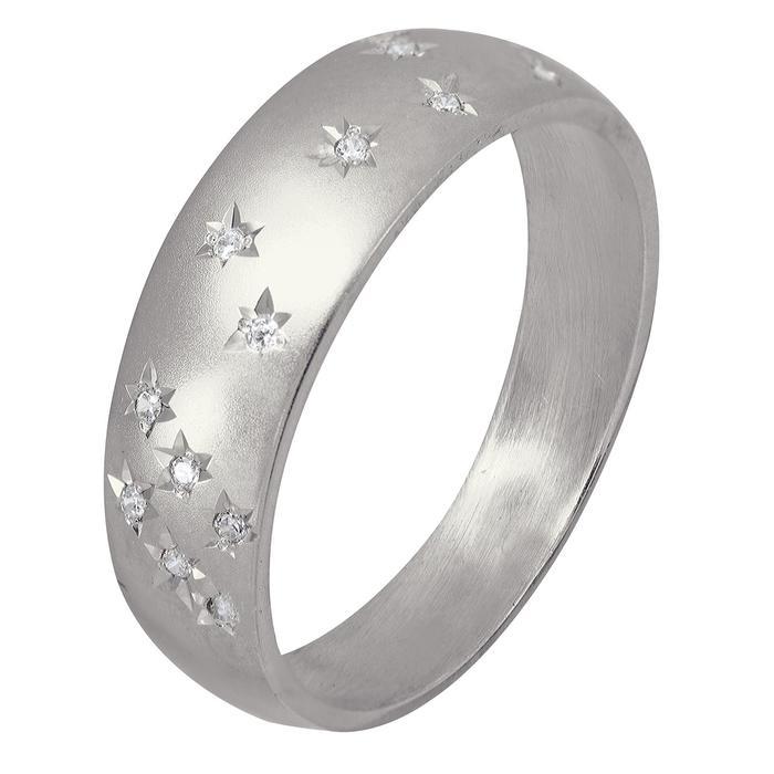 """Кольцо """"Звёздное небо"""" посеребрение, размер 16"""