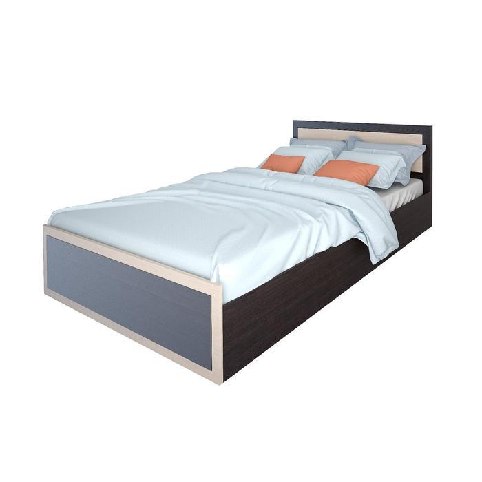 Кровать 1,6 Гармония 1714х800х2035 Венге/Дуб белфорт