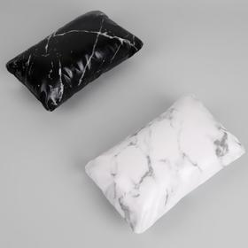 Cushion for manicure 24*15*6,5 cm cushion skin.Zam. marble MIX